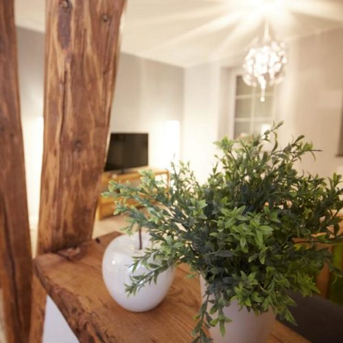 Wohnzimmer - Ferienhaus Eifelträume